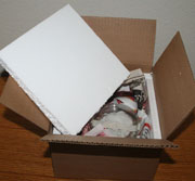shipping box for corn snakes